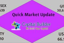 Indian Market News Update / Welcome to capitalbuilder.co.in. We provide India stock market tips and commodity tips to investors and traders in India. As a leading provider of India stock market trading tips and advisory services. We offer a good rang of recommendations and advisory services to our client.Capitalbuilder India's most trusted stock tips provider and this in turn has helped us to serve a vast trading fraternity.