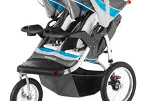 Schwinn Turismo Swivel Double Jogger / Trying to jog along while pushing two children can be a bit frustrating with a low quality jogger, but the Schwinn Turismo Swivel Double Jogger is a high quality model which makes jogging along while pushing your kids a breeze. Schwinn Turismo Swivel Double Jogger This double jogger model by Schwinn comes standard with many different features to make a jogging session extremely safe, convenient, and enjoyable.