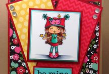 Copic Little Miss Muffet Stamps
