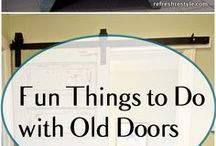 Projects with Old Doors