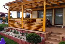Terasa s pergolou / #wood #woodparket #garden #terasa #dřevo #wpc