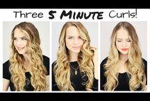 Hair: curls