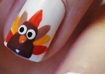 Thanksgiving Nails / by Lindsey Benage