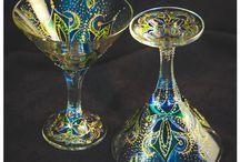 Мои работы - my work on glass / Я занимаюсь росписью по стеклу! Здесь представлены мои работы! заказ возможен по всей России.