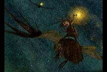 """Tales of the Night / авторские работы из серии """"Сказки ночи"""""""
