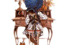 Art ~ Holly Hobbie ~ Sarah Kay ~ Mary May & Co.