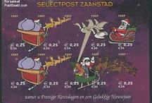 """Christmas Stamps / Christmas (from the Old English: Cristesmæsse, meaning """"Christ's Mass"""") is an annual festival commemorating the birth of Jesus Christ, observed most commonly on December 25 as a religious and cultural celebration among billions of people around the world."""