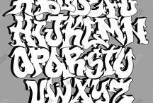 Verschillende lettertypes bv