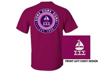 Sigma Swag - Purple and Pearls Spring 2014 / We're thrilled to launch our spring collection! Purple and Pearls is the official boutique of Tri Sigma, and a portion of all purchases supports Tri Sigma leadership programs!