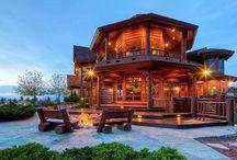 Future Home / Cabin dreams. My dream homes.