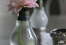 Ideas Diy con Bombillas / ideas de decoracion diy que tu misma puedes realizar para decorar, ahorrar y reciclar con bombillas.