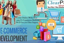 E-commerce Website Development   Clearpath Network Infotech / Clearpath Network Infotech We provide The Best Service in E-commerce Website Designing. Shopping cart Features Included with all packages Professional & Customized design layout made to suit your needs Secure SSL / HTTPS Compatible (Purchase of SSL certificate required by the client) Search Engine Friendly URL Structure ( domainname.com/categoryname/productname.htm ) Ability to customize Title, keyword and description for each product. Unlimited Products / Category / Subcategory Creation