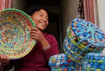 Supporting Women Artisans / JeevanKala is a project of Himalayan HealthCare, created to support Nepali artisans with dignified work, fair wages and health and education benefits.