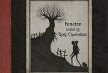 fenetre musical booklet / illustration music album project created by Randy Chandradinata