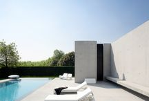Outdoor Geometry / Modern outdoor spaces defined by straight edges  / by 2Modern