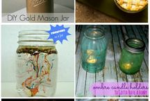 Uses for Mason Jars / by Debbie Hein