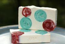 2015 Christmas Soaps - Office Gift - Secret Santa - Hostess Gift - Stocking Stuffer