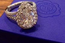 Tacori Engagement Rings / A collection of pins highlighting our favourite Tacori engagement rings.
