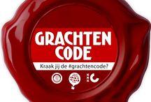 Gamification - #Grachtencode / Van 1 t/m 13 oktober 2013 speelden we op Twitter met @Amsterdam_2013 het spel 'Kraak jij de #grachtencode?'. Aanleiding was het 400-jarig bestaan van de grachtengordel. Ruim 50 musea, hotels, instellingen en organisaties verborgen 13 dagen lang een letterzegel op hun gevel. Via Twitter kon je deze met behulp van de hashtag #grachtencode vinden. Met de 13 verschillende letterzegels was het mogelijk de code te kraken. Conceptontwikkeling en uitvoering.