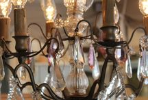 Chandeliers / A beautifull chandelier compltes your house. I like the French most!