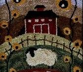 Wool Hooked Rugs ( Old School)