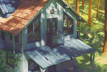 Architecture//Country-Farm-Rural-Hut