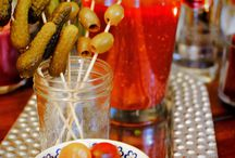 Great Garnishes / The best toppers to your Fat & Juicy Bloody Mary or Margarita