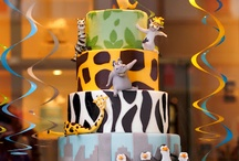 Madagascar/Safari theme birthday party ideas