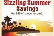 Resume Specials / Resume specials and discounts