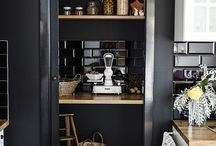 CZARNA KUCHNIA / black kitchen / by Homebook.pl