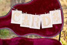 Zene témájú esküvő- Wedding music theme