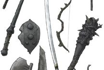 D&D characters and assets