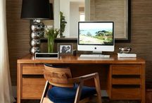 Executive chic / Vintage Office images and Pieces to create the Ultimate Working Environment