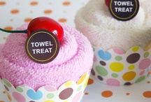 craft: baby shower / towel & diaper