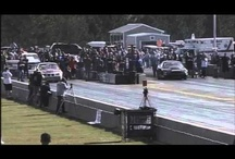Drag Car Almost Flips Over p1
