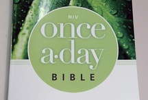 Got 5 minutes? Got an hour? Give it to God. / Introducing the Once-A-Day Bible collection from Zondervan. / by NIV Bible by Zondervan
