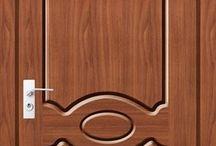 motif daun pintu