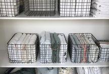 Linens organization