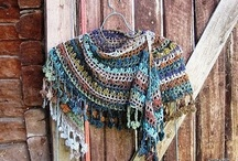 Crochet - Scarves, Shawls, Hats & Gloves / by Liezl Smith