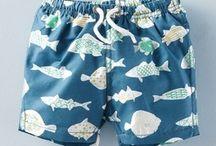 CHILDREN'S SWIMWEAR / Swimwear and beach accessories for boys and girls.