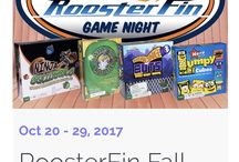RoosterFin Fall Time Game Night
