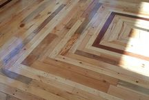 podłoga z palet
