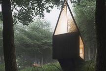 klimat dom w lesie