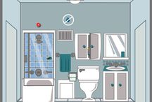 Bathroom / The bathroom is a complex place. If not properly maintained, you can have serious problems like mold and moisture issues. Interested is renovating your bathroom? Updating your bathroom can increase the value of your home and a show-stopping bathroom can make a strong statement in your home. Use these helpful guides to help you as you're upgrading your bathroom...