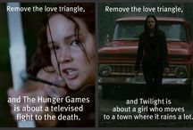 Because the Hunger Games needs its own board / by Charity Sandra