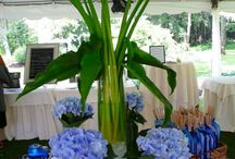 Terrific Table Tops / From floral arrangements, to colors, to menu, to favors, it is ALL on your tabletop.