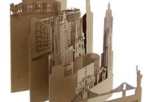 Carte postale / Decalque