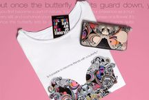 Butterfy Effect • Leather Wallet & Tee