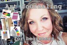 Art journal for beginners