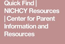 Resources for Special Individuals